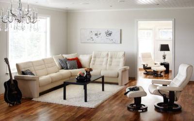Using Ekornes Leather Furniture to Enhance Your Home's Modern Style