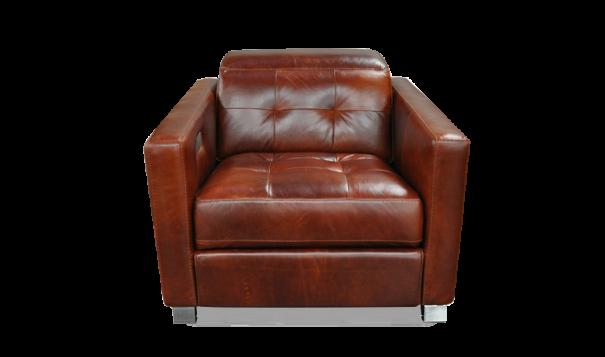 Omnia Leather Sardinia Recliner - Leather Furniture in Hampton Falls NH