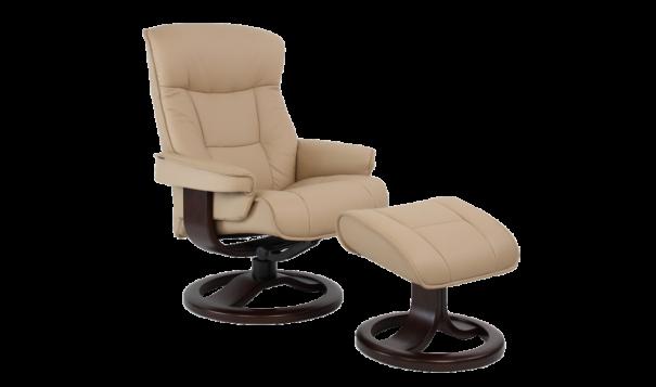 Fjords Bergen Recliner - Leather Furniture in Hampton Falls NH
