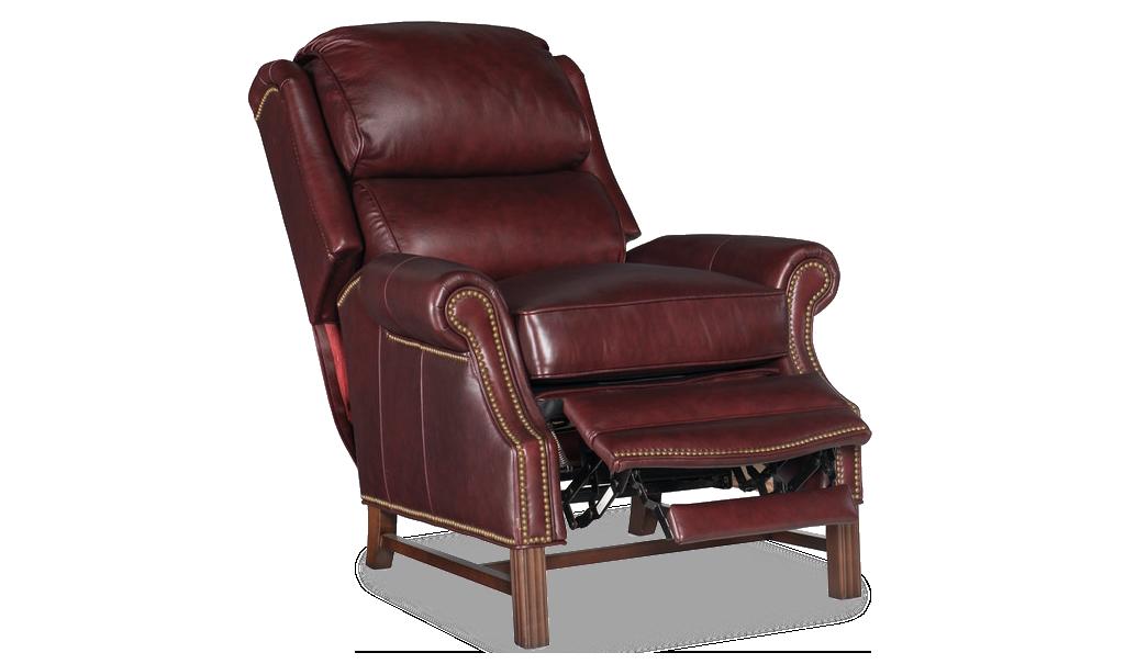 Bradington Young Alta Recliner - Leather Furniture in Hampton Falls NH