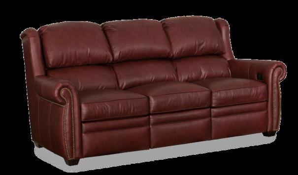 Bradington Young Discovery Power Sofa - Leather Furniture in Hampton Falls NH