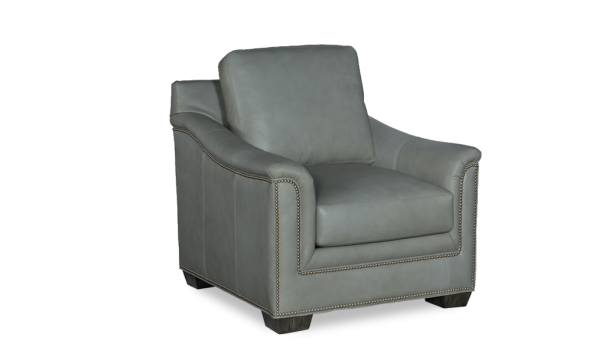 Bradington Young Randleman Chair - Leather Furniture in Hampton Falls NH