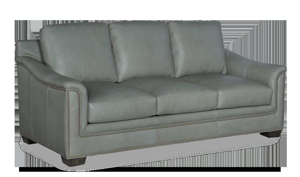 Bradington Young Randleman Sofa - Leather Furniture in Hampton Falls NH