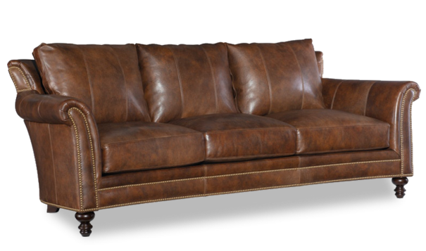 Bradington Young Richardson Sofa - Leather Furniture in Hampton Falls NH