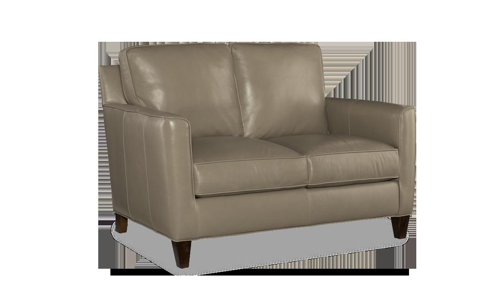 Bradington Young Yorba Loveseat - Leather Furniture in Hampton Falls NH