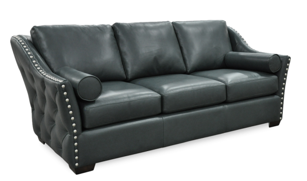 Omnia Leather Brisbane Sofa - Leather Furniture in Hampton Falls NH