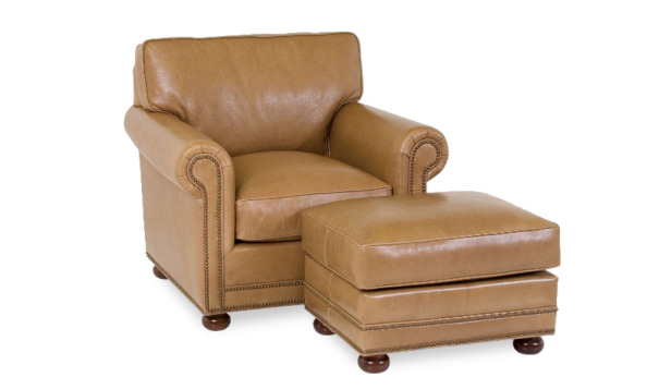 Classic Leather Larsen Chair - Leather Furniture in Hampton Falls NH