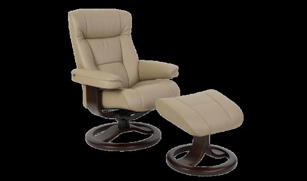 Fjords Mangana Recliner - Leather Furniture in Hampton Falls NH