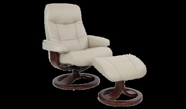 Fjords Muldal Recliner - Leather Furniture in Hampton Falls NH