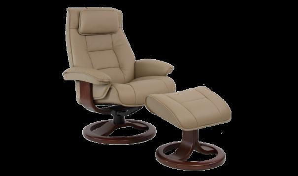 Fjords Mustang Recliner - Leather Furniture in Hampton Falls NH