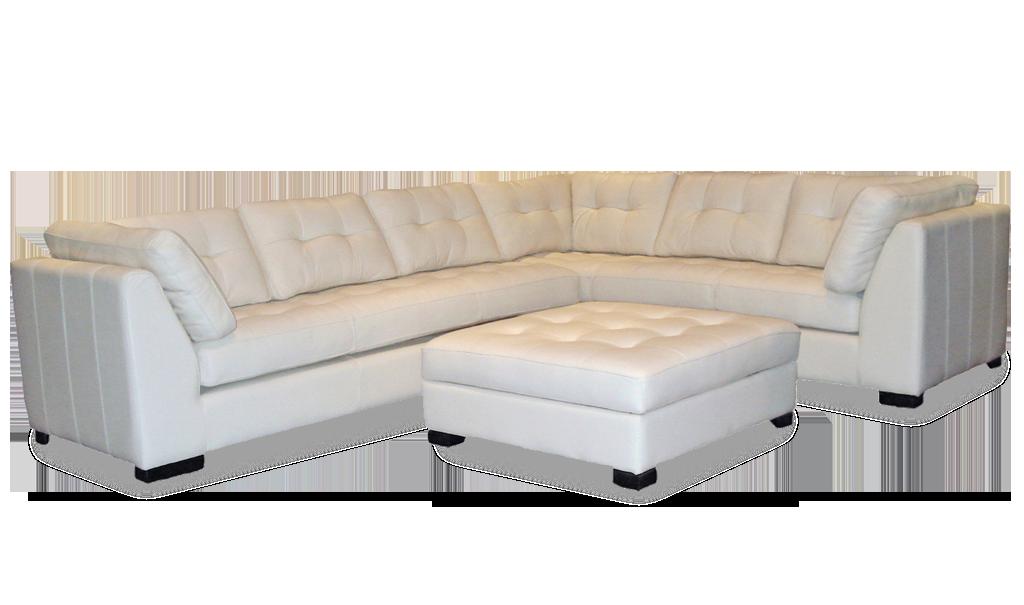 Omnia Leather Newport Sectional - Leather Furniture in Hampton Falls NH