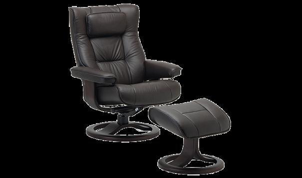 Fjords Regent Recliner - Leather Furniture in Hampton Falls NH
