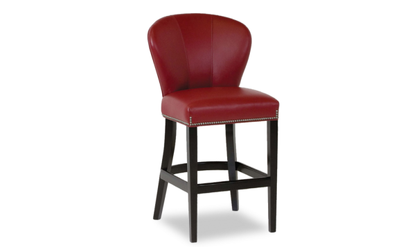 Classic Leather Saddle Up Barstool - Leather Furniture in Hampton Falls NH