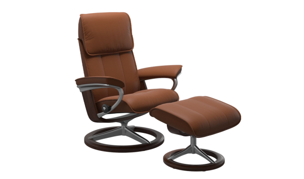 Ekornes Stressless Admiral Recliner - Leather Furniture in Hampton Falls NH