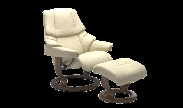 Ekornes Stressless Reno Recliner - Leather Furniture in Hampton Falls NH