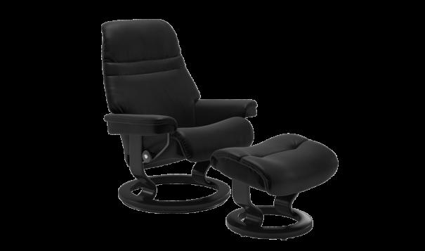 Ekornes Stressless Sunrise Recliner - Leather Furniture in Hampton Falls NH
