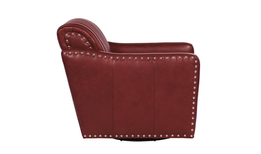 Bradington Young Beth Swivel Chair - Leather Furniture in Hampton Falls NH