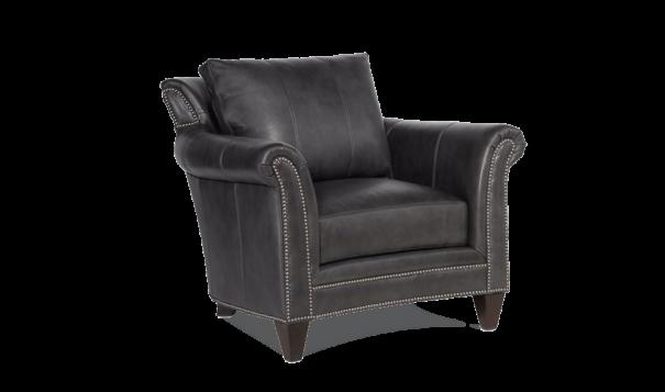 Bradington Young Richardson Chair - Leather Furniture in Hampton Falls NH