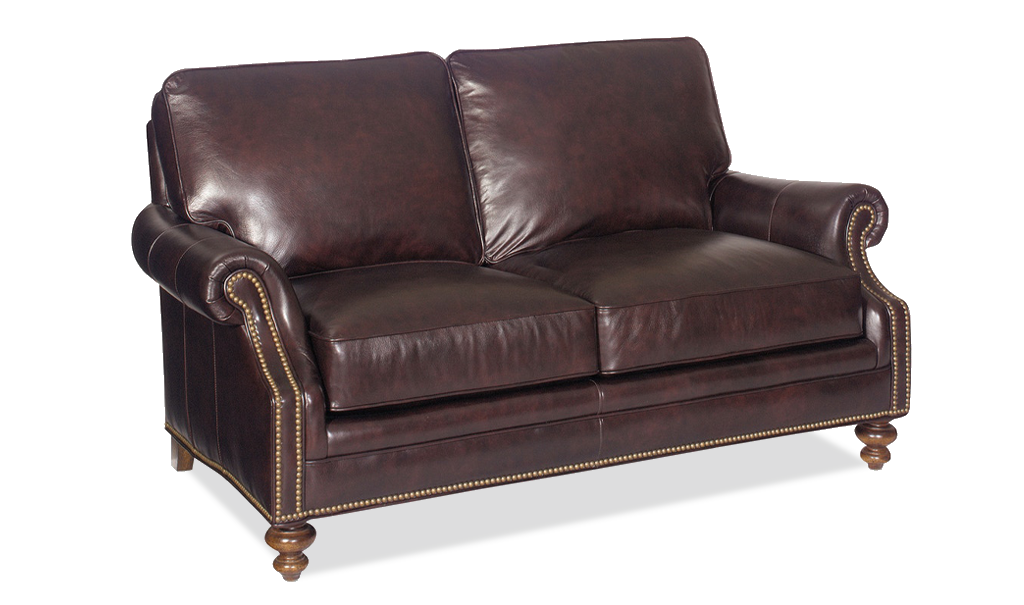 Bradington Young West Haven Loveseat - Leather Furniture in Hampton Falls NH