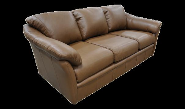 Omnia Leather Salerno Sofa - Leather Furniture in Hampton Falls NH