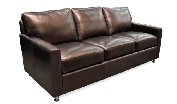 Omnia Stationary Solutions Small Sofa - Leather Furniture in Hampton Falls NH