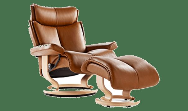 Ekornes Stressless Magic Recliner - Leather Furniture in Hampton Falls NH