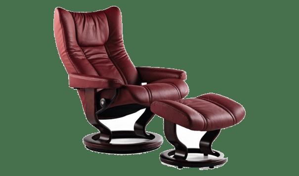 Ekornes Stressless Wing Recliner - Leather Furniture in Hampton Falls NH